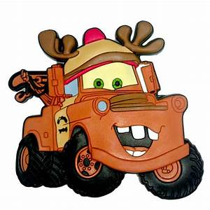 Your WDW Store - Disney Magnet - Pixar Cars - Reindeer Tow