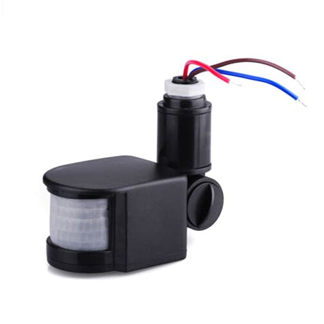 led outdoor 12v 220v automatic infrared pir motion sensor