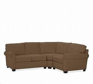 Buchanan left 3 piece small sectional with corner wedge for 3 piece small sectional sofa