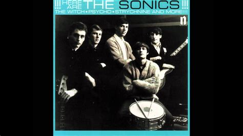 "Sonics""the Witch"" From ""here Are The Sonics"" Youtube"