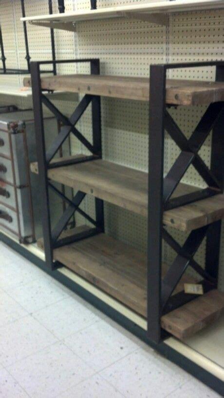 metal  wood shelf   home pinterest metals