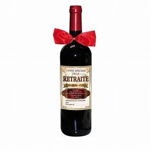 Customiser Une Bouteille De Vin : une bouteille de vin cuv e sp ciale pour la retraite sur ~ Zukunftsfamilie.com Idées de Décoration