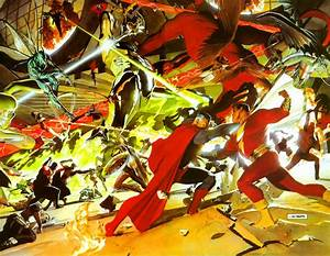 Daily, Splash, Page, In, The, Future, Superhero, Comics, Will, Only, Be, About, Superheroes, Fighting, Each