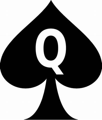 Queen Spades Clipart Clip Subculture Vector Clker