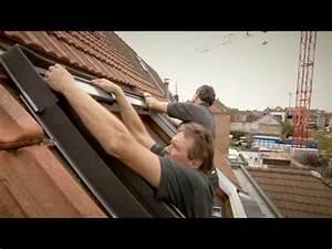 Store Velux 114x118 : remplacement d 39 une ancienne fen tre de toit velux youtube ~ Edinachiropracticcenter.com Idées de Décoration