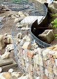 unbelievable curved gabion wall. HD wallpapers unbelievable curved gabion wall cmobile3dcandroid ml