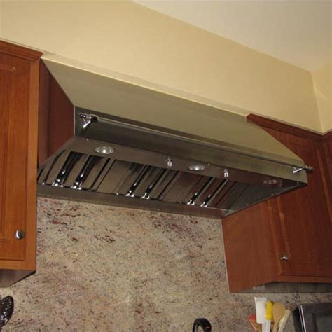 range hoods ps wall mount pro style canopy rangehood  modern aire kitchensourcecom
