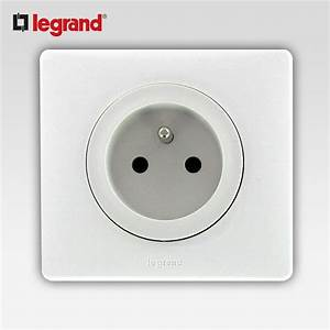 LEGRAND CELIANE PRISE 2 PT PC BLANC COMPLET SUPPORT