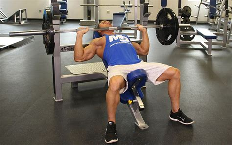 incline bench press incline bench press exercise guide tips