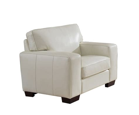 white leather sofa and chair kimberlly full top grain ivory white leather chair