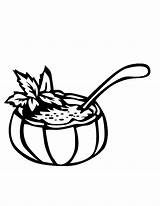 Coloring Soup Pages Rice Bowl Drawing Getdrawings Popular Drp sketch template