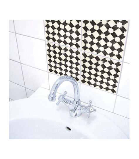 carrelage noir et blanc cuisine stickers pour carrelage de salle de bain ou cuisine