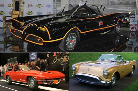Top 5 Cars Ever Sold At Barrett Jackson Collector Car