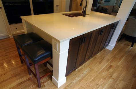 two tone kitchen island halifax homeowners say so to the early 80s hello 6437