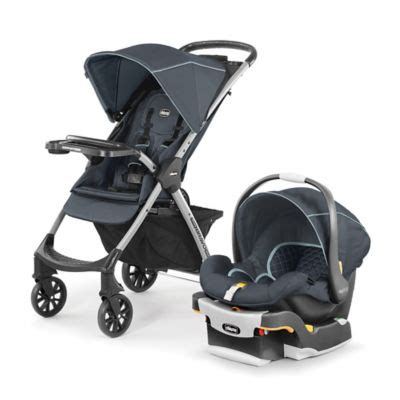 Mini Chicco by Chicco 174 Mini Bravo 174 Plus Travel System In Midnight Bed