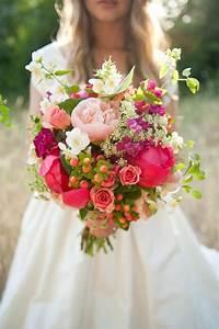 8 magnifiques bouquets de mariée printaniers mariage