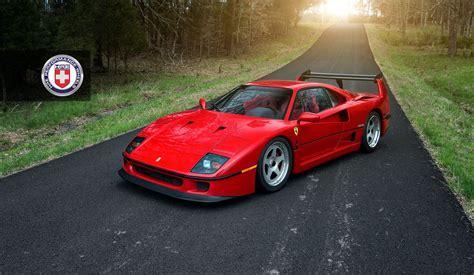 ferrari classic ferrari f40 with hre classic 305 wheel