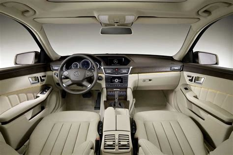 interieur mercedes classe e photo