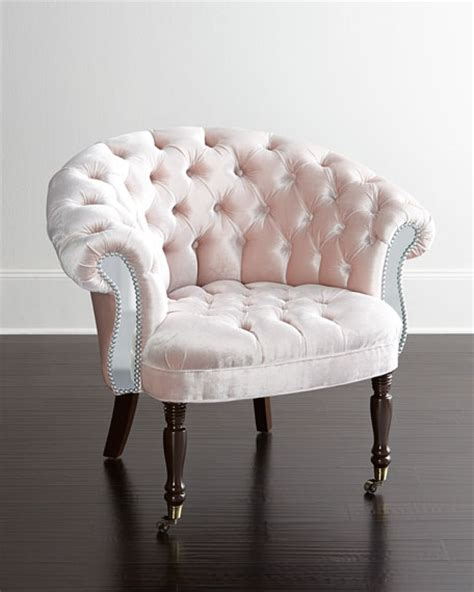 haute house blush sausalito mirrored chair