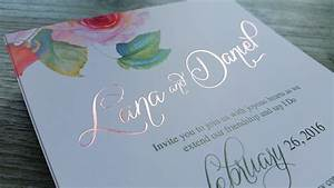 foil printed wedding invitations new zealand silver gold With diy wedding invitations nz