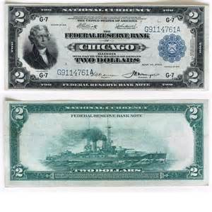 1914 Two Dollar Bill