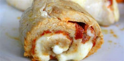 recette de cuisine escalope de dinde escalope de dinde roulée au chorizo et mozzarella facile