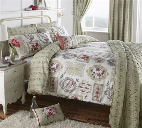 Vintage Style Bedding And Curtains  Bedding Designs