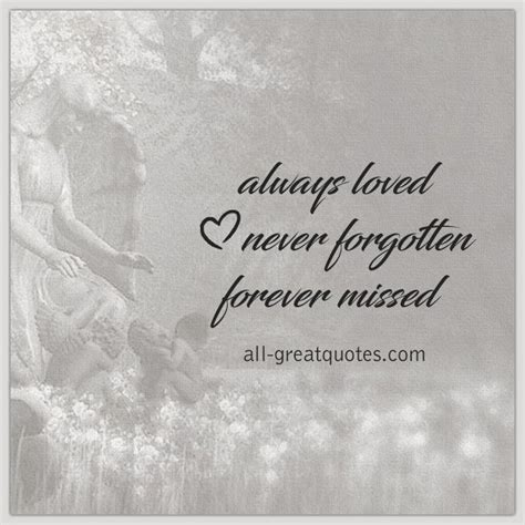 forever gone but never forgotten quotes