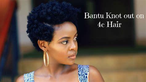 bantu knot    natural tapered hair black