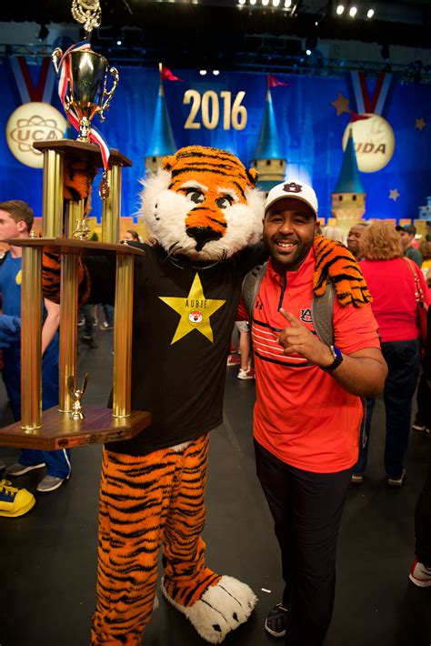 aubie auburn tiger student mascot uca wins number