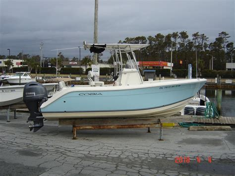 2016 used cobia 217 center console center console fishing boat for sale 48 000 morehead