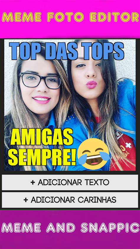 Edit Foto Meme - criador de meme foto editor texto carinhas na foto android apps on google play