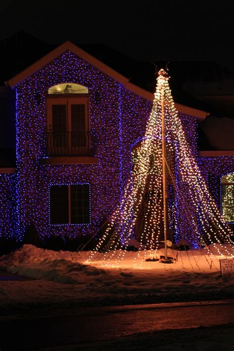 The Color Mixing Christmas Light Project
