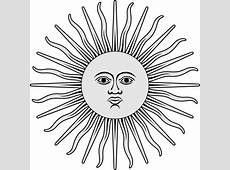 Inca Sun Sun of May It is one of the national emblems