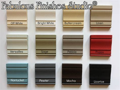 furniture paint colors clay mineral chalk paint fabulously finished