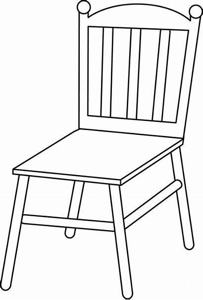 Cartoon Chair Furniture Clipart Library Cliparts
