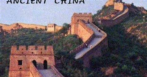 iman s home school ancient china bitesize