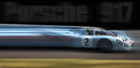 porsche 917 art porsche 917 digital art by peter chilelli