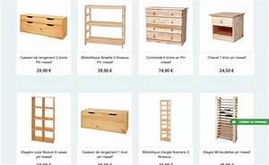 Meuble Pin Pas Cher : meubles en pin pas cher ocean ville ~ Teatrodelosmanantiales.com Idées de Décoration
