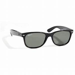 Ray Ban RB 2132 New Wayfarer 55 Polarized Sunglasses | evo