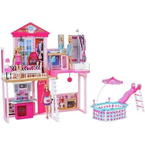 Walmart Barbie Doll Houses Girls
