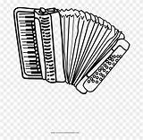 Button Ultra Accordion Coloring Pngfind sketch template