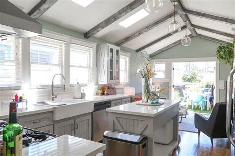 and black kitchen cabinets jeff joseph s silver lake bungalow house tours 7661