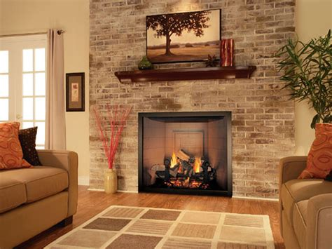 Fireplace In The House by Living Room Living Room With Brick Fireplace Decorating