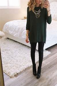 Dressy Outfits With Leggings - Oasis amor Fashion