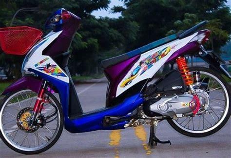 Modif Matic by 2019 Modifikasi Motor Matic Paling Keren Terbaru Di Indonesia
