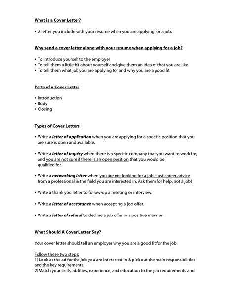 what makes a cover letter for a what do cover letters include cover letter exle