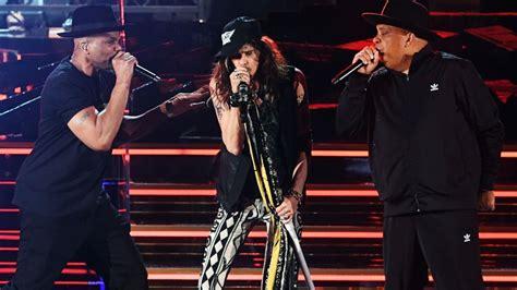 Aerosmith and Run-DMC Reunite for 2020 GRAMMYs Performance ...