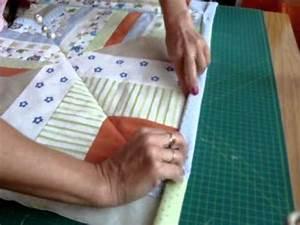 Nähen Mit Stoffresten Anleitungen : patchworkdecke quilt aus stoffresten n hen teil 3 von 3 ~ Lizthompson.info Haus und Dekorationen