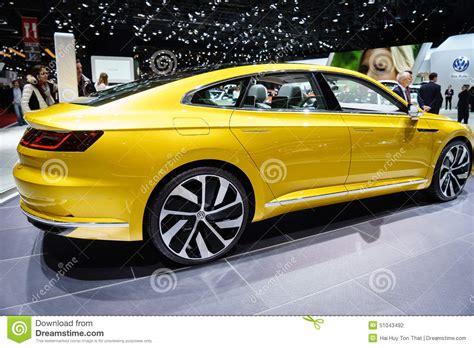 volkswagen coupe volkswagen sport coupe concept gte motor show geneve 2015